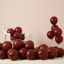 baloons 50pcs/lot 10inch 2.2g round orange latex balloon children happy birthday globos wedding decoration balloons anniversaire