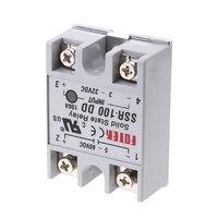 SSR-100 DD твердотельные реле модуля 100A 3-32 V DC Вход 5-60 V DC выходное реле # Aug.26