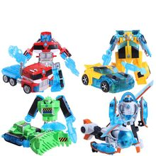 Hot Sale! 4PCS/Set Rescue Bots Action Figures Toys 15 - 17cm Transformation Robots Toys For Kids Gifts Free Shipping(China)