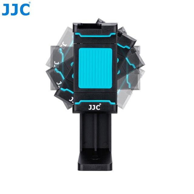 JJC Smart Phone Stand 56 105mm Adjustable Clip Selfie Stick Mini Tripod Mount Phones Holder for iPhone/HUAWEI/MI/Samsung