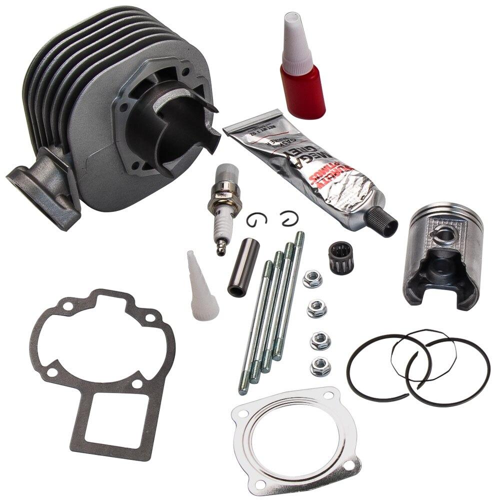 Cylinder Piston Gasket Cylinder Head Kit for Suzuki QuadSport LT80 1987-2006