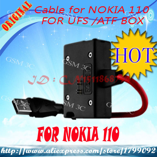 Free Shipping Cable For Nokia 110 Cable For Jaf Box For Ufs Box