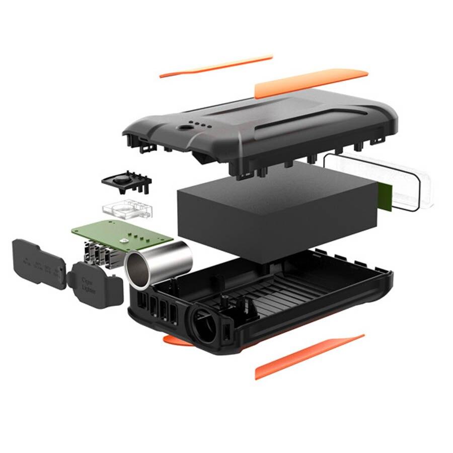 38000 мАч Мощность Bank Открытый bateria наружный movil зарядки drone компьютер вентилятор портативный Мощность питания преобразователя быстро Зарядно