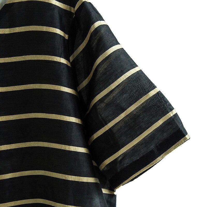 Black Banda 2017 Maglia Femminile Dei Fluido Espansione Nuovo Vestiti Vestito Formato Della Un Inizio Fondo Biancheria Arrivo Il Pezzo Di Autunno Coulisse Più 7ABp7qw