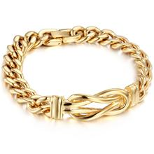 Granny Chic Gold and Rose Fashion Punk Buddha Bracelet for Women DIY Bangles Charms Bracelets Men Jewelry Gifts