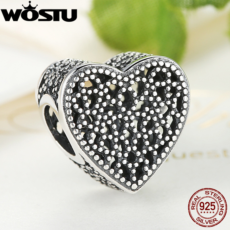 Prix pour Nouvelle Arrivée Réel 925 Sterling Argent Rempli avec Romance Charme Perles Fit Pandora Bracelet Original Authentique Fine Jewelry