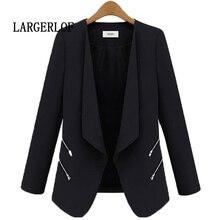 LARGERLOF женский Блейзер Осень Весна Белый Блейзер Женский Colther 2018 женские пиджаки и куртки BR57109