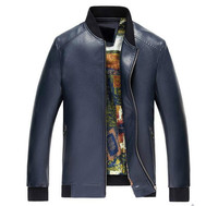 Men S Faux Sheep Leather Jackets Men Motocycle Leather Jacket Slim Fit Leather Clothing Leather Handsome