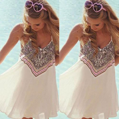 Boho-Sexy-Women-Sleeveless-Party-Evening-Cocktail-Summer-Beach-Short-Mini-Dress