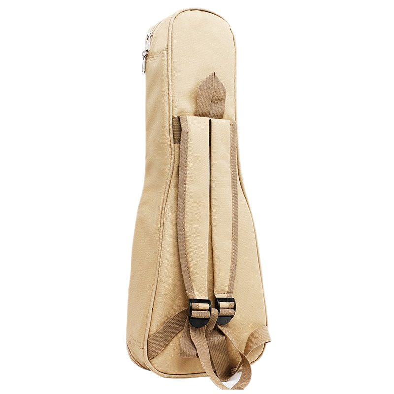 HOT-Waterproof Ukulele Bag Case Backpack Ukelele Guitar Accessories Beige 21 inch - 57*22cm