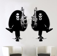 Men In Black II Poster Wall Sticker Comic Science Fiction Film Decal Vinyl Mural Will Smith Poster Decor