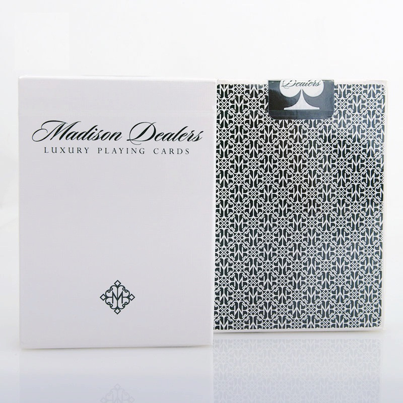 Ellusionist Madison Dealers Erdnase Green / Red Bicycle Naipes Deck Fashion Poker Magic Cards Trucos de magia Envío gratis