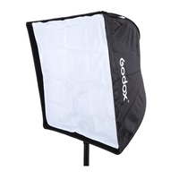 Godox 60x60cm Photo Umbrella Rectangle Softbox Diffuser Reflector for Studio Speedlight Flash 24''x24''