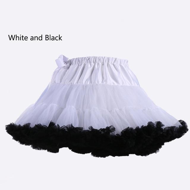 E JUE SHUNG Ball Gown Underskirt Swing Short Dress Petticoat Lolita Cosplay Petticoat Ballet Tutu Skirt Rockabilly Crinoline 5
