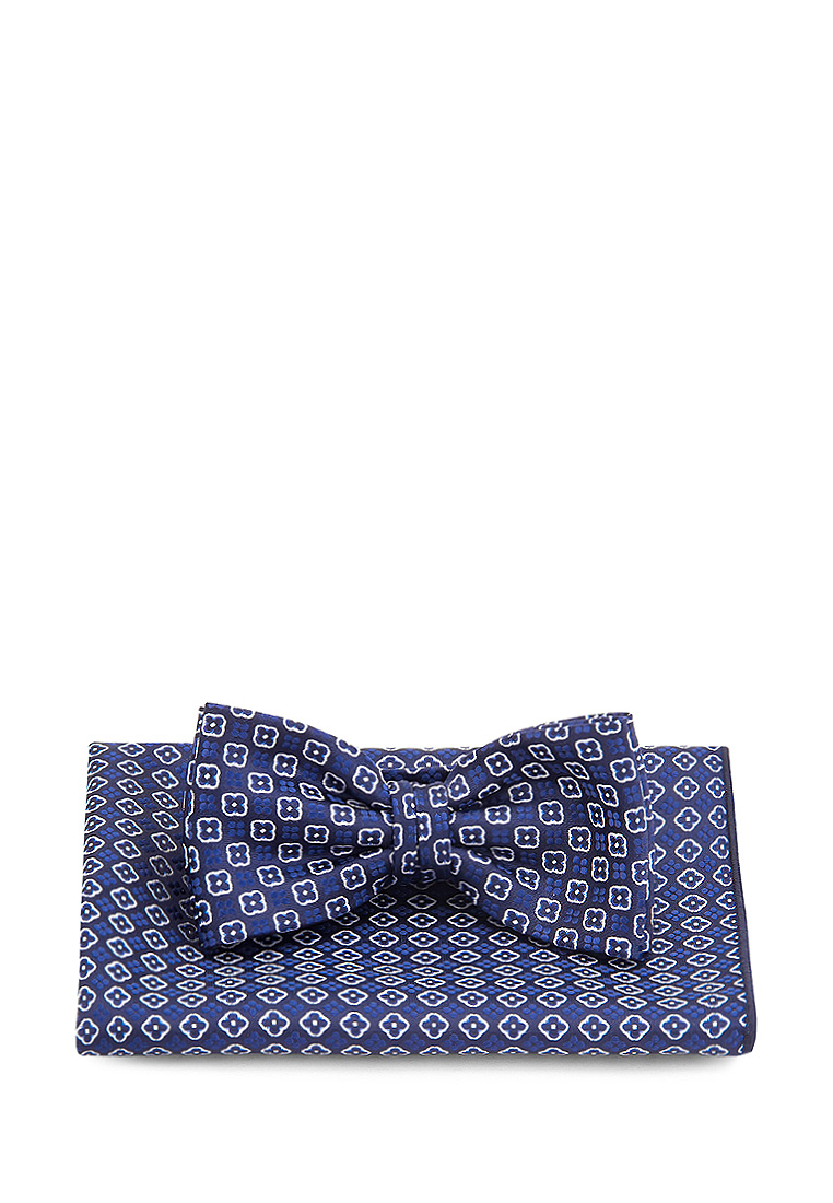 [Available from 10.11] Bow tie male handkerchief CARPENTER Carpenter poly 2 blue 710 1 115 Blue