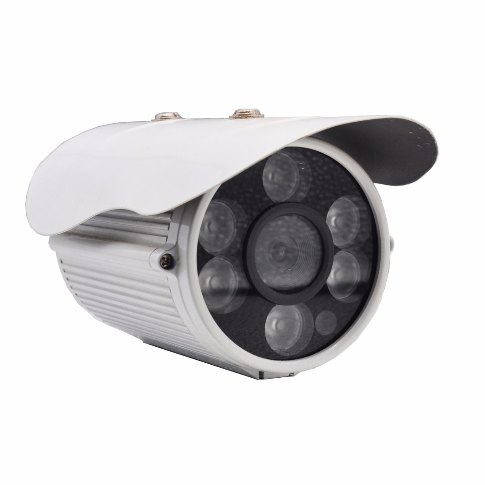Closed System Waterproof Outdoor Analog CCTV Camera 100 Degree Angle Len Home Security Surveillance Indoor 6mm Bullet Cameras annke 8ch 720p 1500tvl cctv system 8pcs 720p ir outdoor security cameras 8ch 1080n 4in1 dvr kit cctv surveillance system