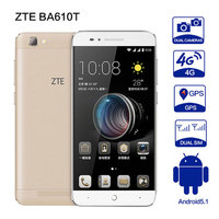 Original ZTE BA610T MTK6735P Quad Core Phone Android5 1 2G RAM 8G ROM 8 0MP 4000mAh