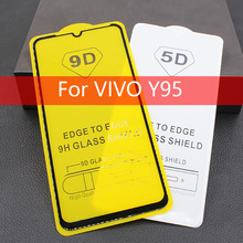 9D Full Glue Screen Protector Film For VIVO NEX Tempered Glass 9H Cover Protective Y95 Y97 Y93 X23 V11 Pro V9
