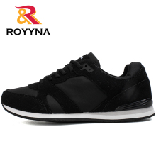 ROYYNA Spring Autumn New Style Men Walking Shoes Lace Up Jogging Outdoor Trainers Comfortable Sapatos Tenis Masculino Shoe