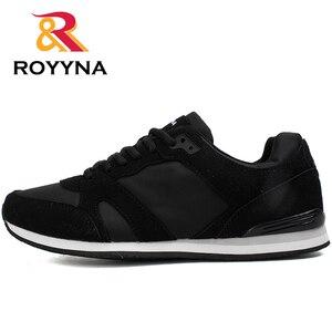 Image 5 - ROYYNA chaussures confortables respirantes pour hommes, nouveau Style, printemps automne, chaussures décontractées, livraison rapide, à lacets