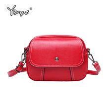 fashion casual messenger bags for women 2019 High quality PU leather shoulder shopping bag cute girls small round satchel