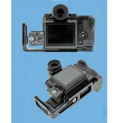 Quick Release Aluminum L Bracket Plate For Fuji GFX 50S Camera Vertical Shoot L Plate Hand Grip Holder For Fujifilm GFX 50S