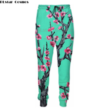 PLstar Cosmos Joggers Pants Men Green tea 3d Print Sweatpants Casual Arizona tea joggers size S