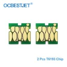 2 предмета в комплекте T6193 чип обслуживание бак для Epson T3000 T5200 T7200 T3270 T5270 T7270 F6000 F6070 F6000 B6070 B7000 чернила чип