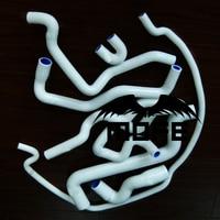 MOFE Original Logo 8PCS Silicone Coolant Radiator Hose Kit For Saab 9 5 1999 2001 Green