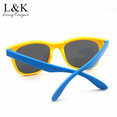 LongKeeper Children Polarized Sunglasses TR90 Baby Classic Fashion Eyewear Kids Sun glasses boys girls sunglasses UV400 Oculos Lahore