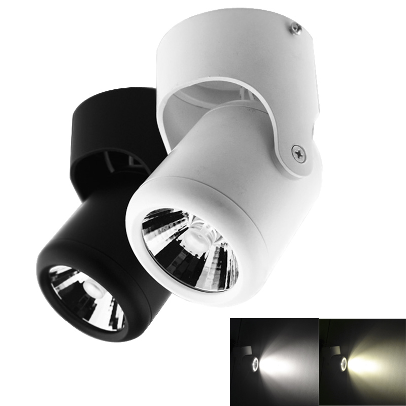 Ultra Bright 7w 12w Led Ceiling Wall Light Flush Mounted: COB 10W 20W LED Downlights Surface Mounted Downlight LED