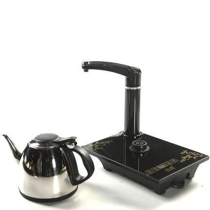 Ensemble de thé à la maison bouilloire de cuisson rapide à pot unique pomper automatiquement la cérémonie du thé à l'eau