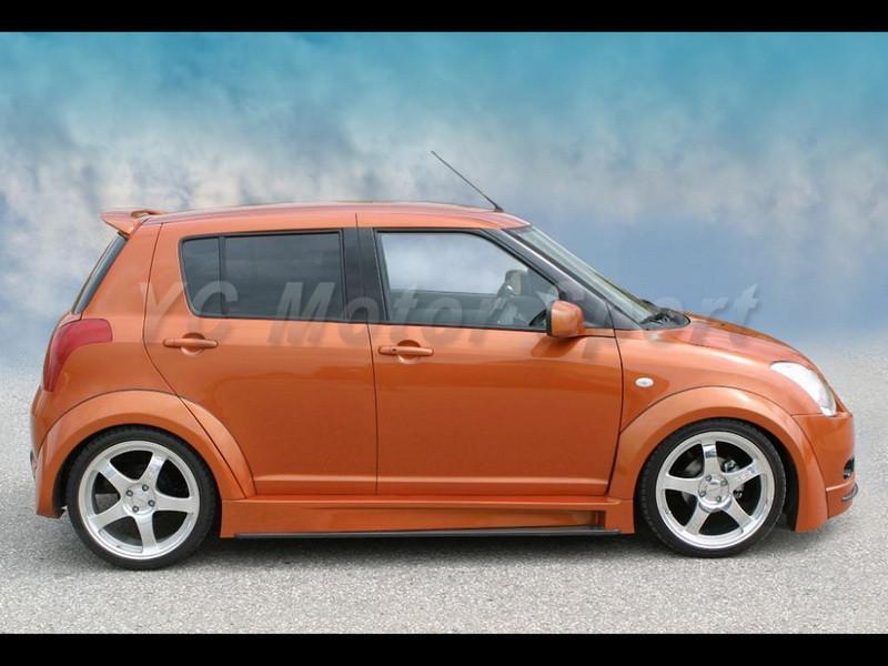 2004-2010 Suzuki SWIFT Königseder Style Wheel Flare Arch CF (4)