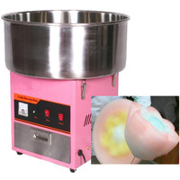 Electric stainless steel sugar floss machine cotton candy maker