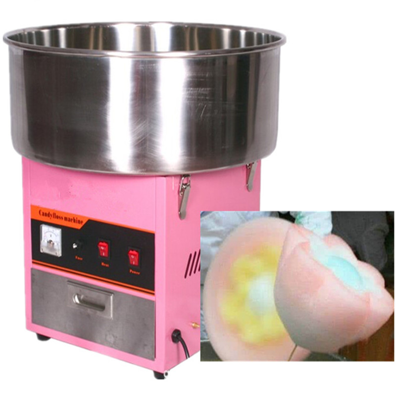 Electric stainless steel sugar floss machine cotton candy maker stainless steel axle sleeve china shen zhen city cnc machine manufacture