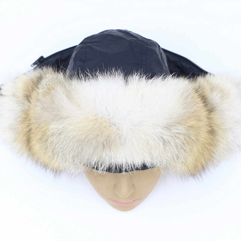 Волка шапка с натуральным мехом