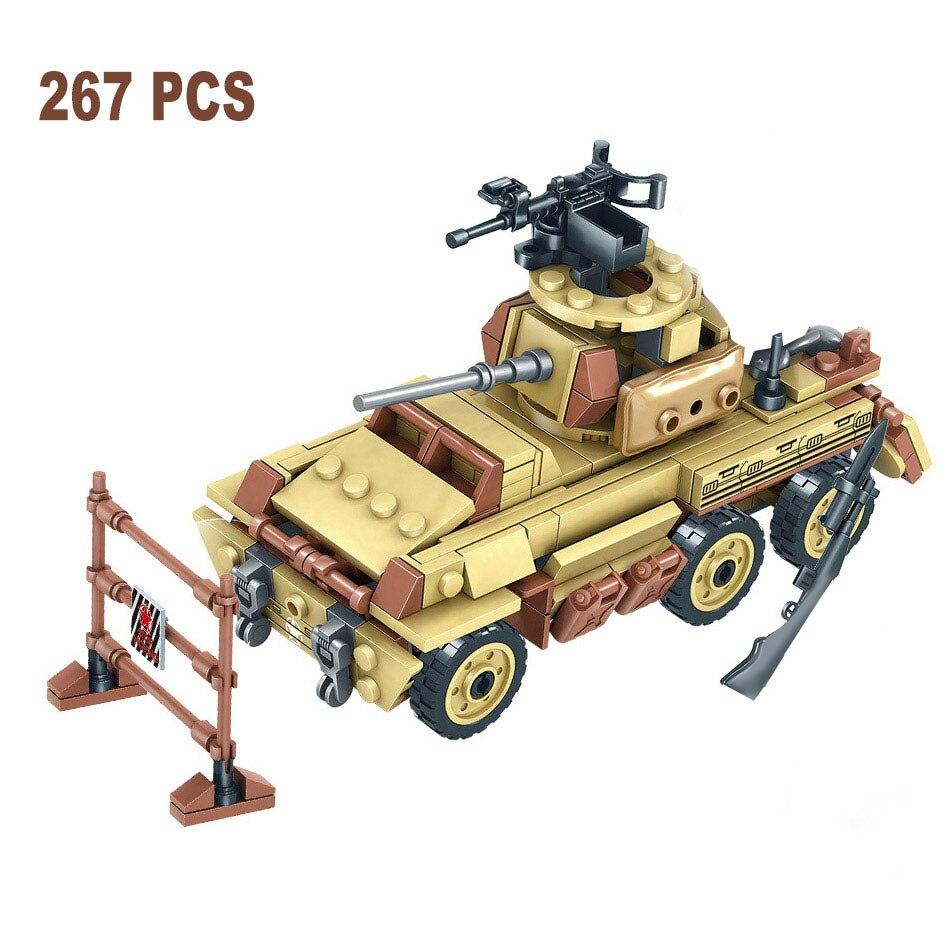 1035 pcs ww2 exercito tropa militar tanque 01