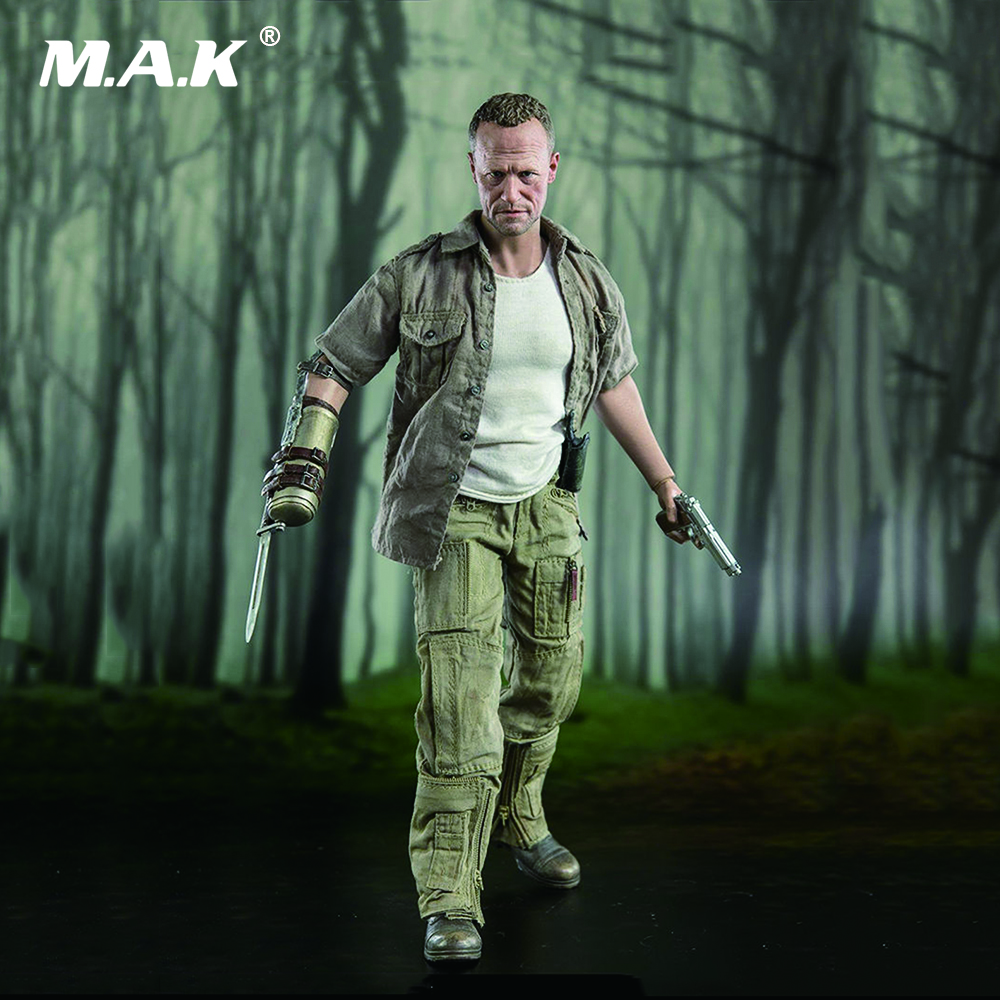 1/6 The Walking Dead Moore Merle Dixon Collectible   Action Figure Toy with Box гэри мур the midnight blues band gary moore