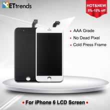 20PCS LOT AAA grade LCD Display for iPhone 6 4 7 LCD Screen Digitizer Touch Screen