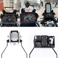 Chegada de novo! F750gs f850gs suporte de navegação do telefone da motocicleta placa suporte do telefone para bmw f750gs f 750 850 gs 2018 2019