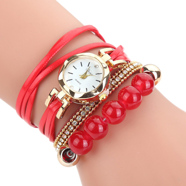 Dropshipping Top Brand New luxury crystal bracelet watch women Relogio Feminino