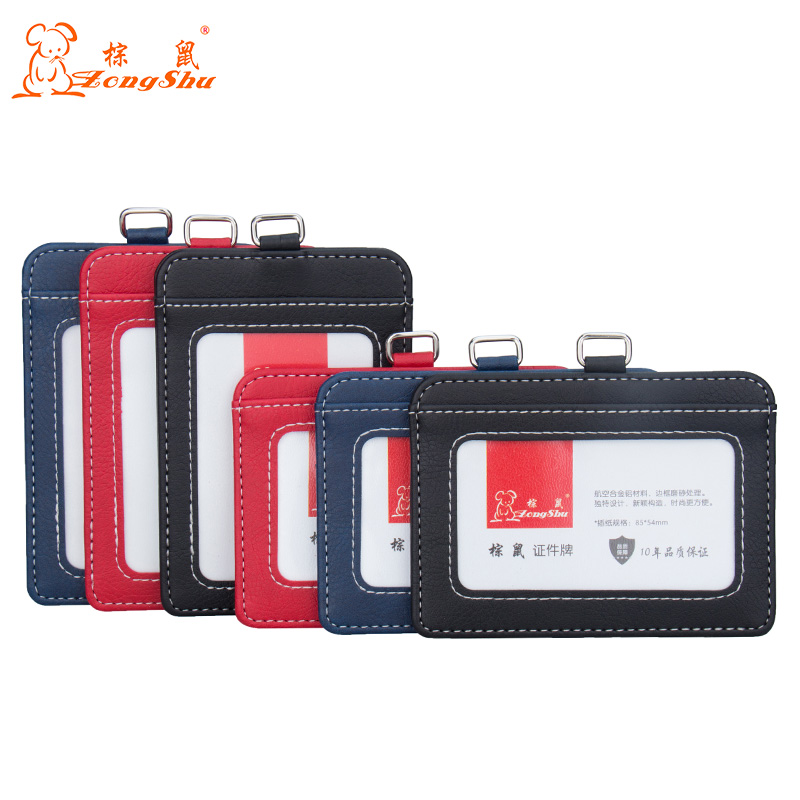 New transparent ID card holders and certificates case for admission quality PVC card badge holder work ID Cover without lanyard стоимость