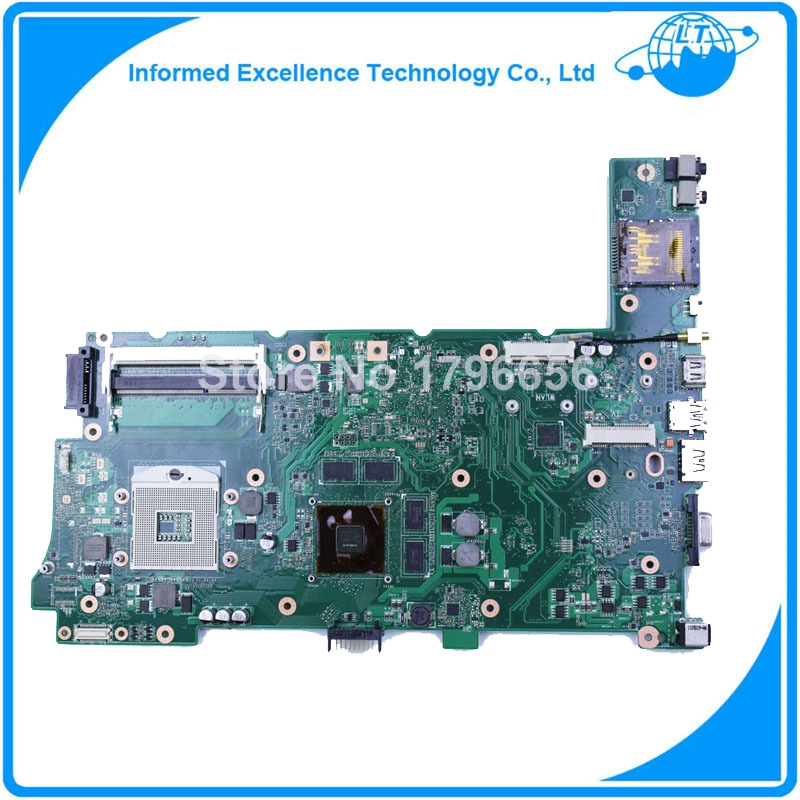 100% working Laptop Motherboard for ASUS N73JQ N73JF REV:2.1 60-NZYMB1100-C14 Mainboard 3RAM slots Fully tested v6j for asus vx1 laptop motherboard mainboard fully tested 100