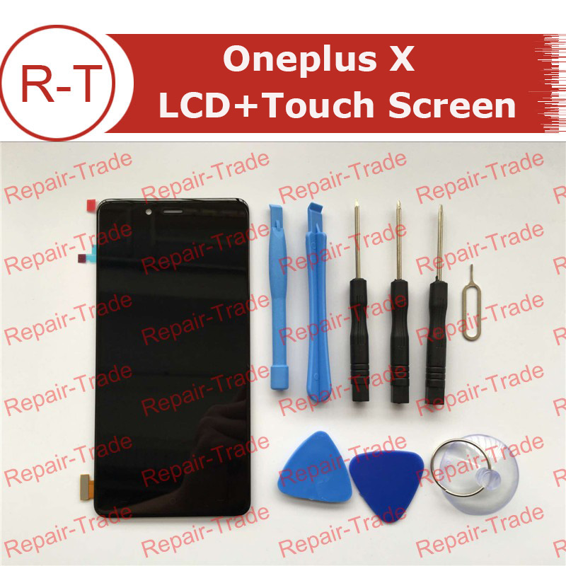 For Oneplus X LCD Screen 100% New FHD 5.0inch 1920X1080 lcd display With Touch Panel Replacement For oneplus X Mobile Phone laptop lcd lp140wf1 sp b1 for dell e7440 with touch lcd screen led display brand new 1920 1080