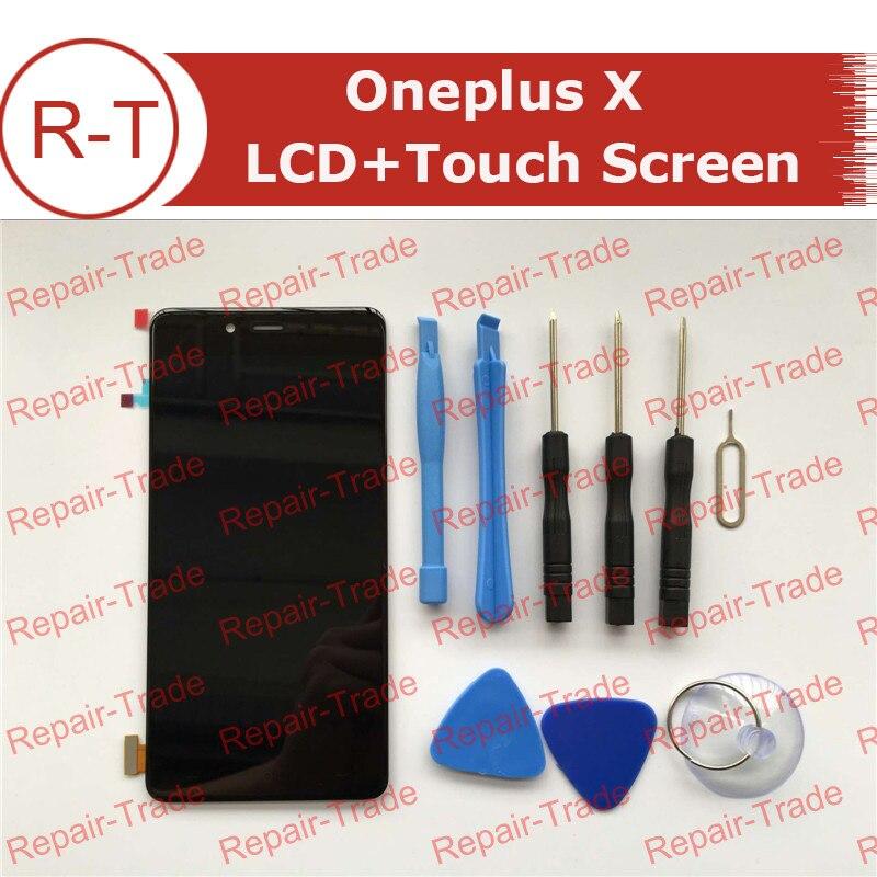 Para oneplus x pantalla lcd 100% nueva fhd 5.0 pulgadas 1920x1080 pantalla lcd c