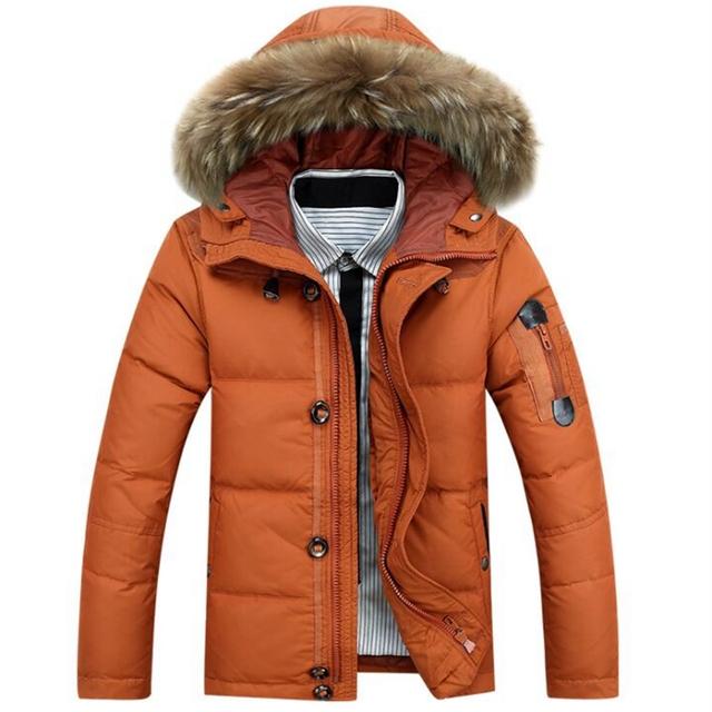 Moda 2016 novo inverno dos homens jaqueta casual masculino de algodão para baixo homens jaqueta com capuz casaco de inverno wadded jaqueta plus size