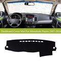 For Mitsubishi Pajero 2007-2016 Car dashboard cover mat Left hand drive Instrument platform desk pad car-styling Quality Assured