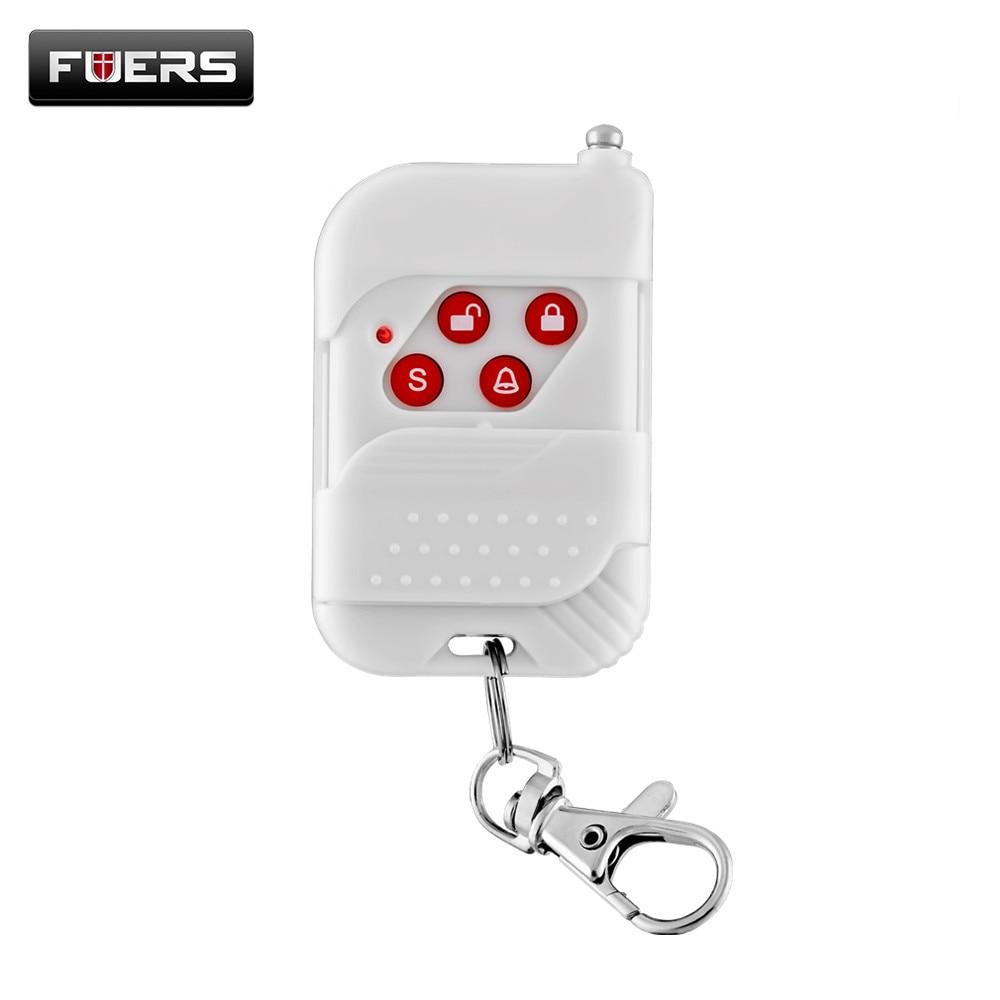 Fuers Wireless Remote Control 433mhz 12V Keychain Key Telecontrol For PSTN GSM Home Burglar Security Burglar Alarm System