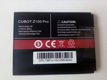 Cubot Z100 Pro Battery Brand New Original 2450mAh Li-ion Replacement for pro Smart Phone In stock