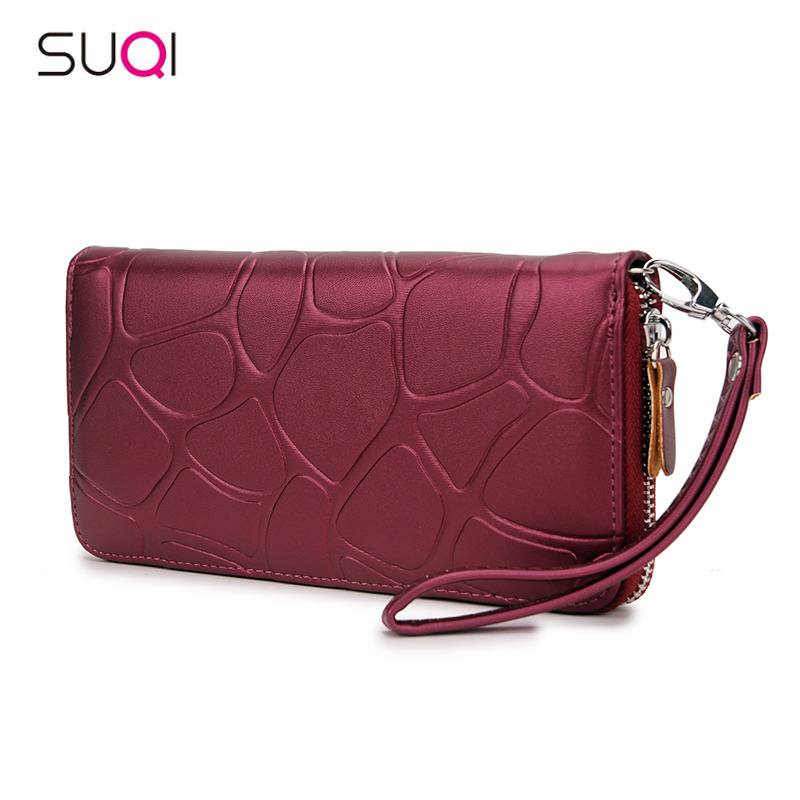 Pu Leather Women Wallet Female Purse Large Capacity Wallets Female Purse Lady Purses Phone Pocket Card Holder Carteras